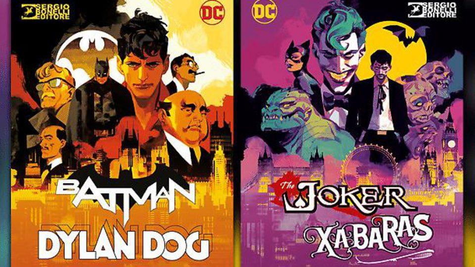 Batman e Dylan Dog - Le cover
