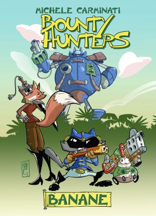 Bounty Hunters - Banane. La cover