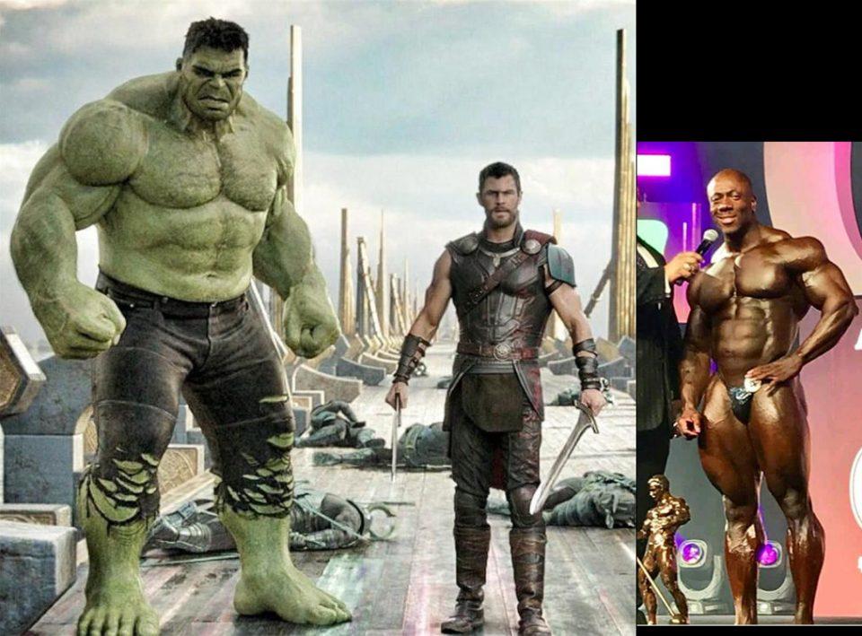 Gli allenamenti dei supereroi. Hulk vs Mr. Olympia 2018