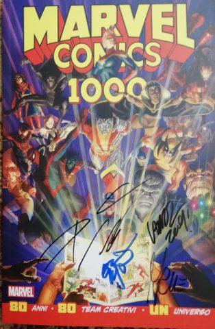 Marvel 1000 - la cover ITA