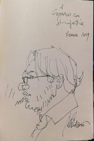 La dedica di Ivo Milazzo