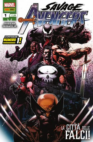 Savage Avengers - La cover