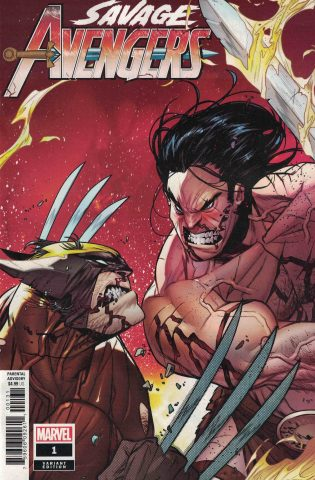 Savage Avengers - La cover variant