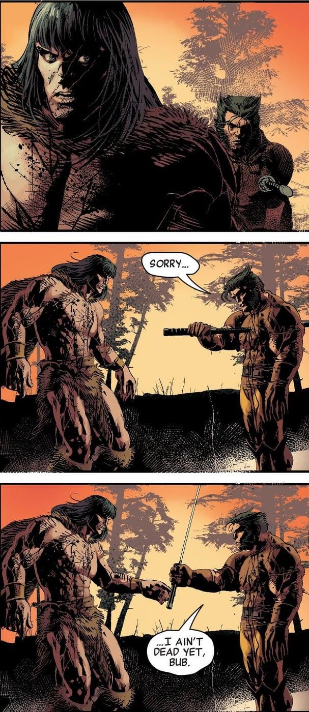Savage Avengers - Un siparietto tra Conan e Wolverine