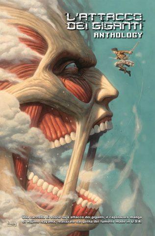 fumetti da regalare a Natale L'attacco dei giganti anthology