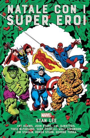fumetti da leggere a natale - Natale con i super eroi